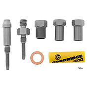 Goodridge Connector Kit 103 M8 Swivel - M6 Male